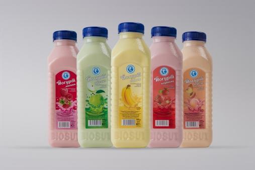 Йогурт питьевой в ассортименте