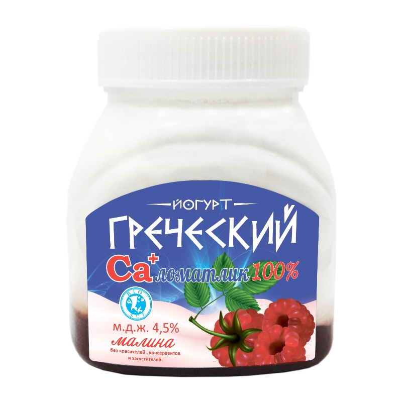 "Йогурт ""Греческий"" Малина"