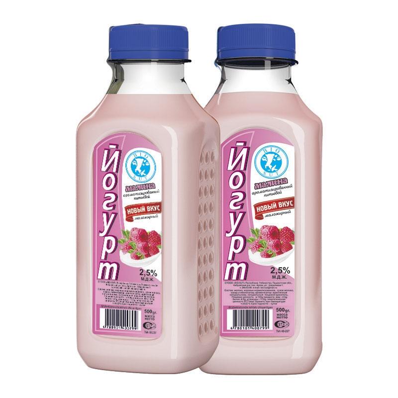 Йогурт полужирный ароматизированный