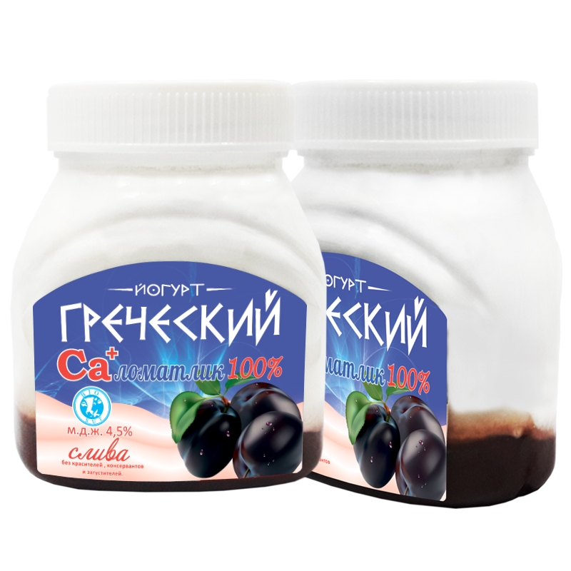"Йогурт ""Греческий"" Слива"